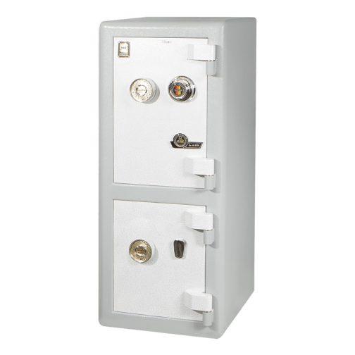 گاوصندوق خانگی دو طبقه با رمز مکانیکی مدل 550DKR
