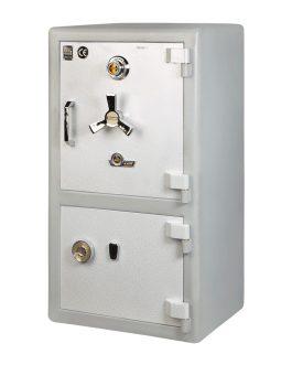گاوصندوق خانگی دو طبقه با رمز مکانیکی مدل  750DKR